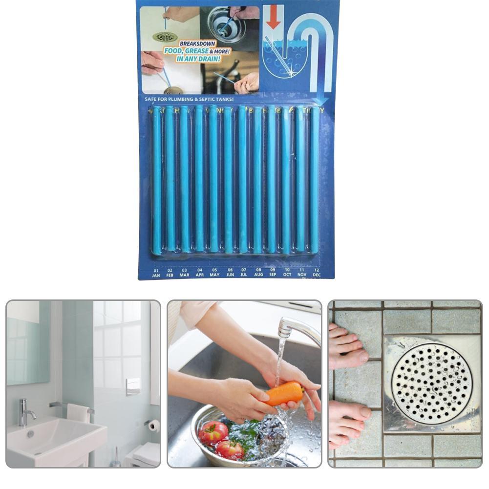 Enzym Reiniger Für Waschbecken Und Küche Verstopfte Rohre Nicht-korrosiven Abflussrohr Reiniger Dekontamination Stick Für Küche Bad