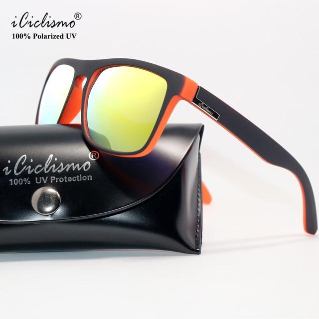 f5c226f22e6d6 QUISVIKER Óculos de Proteção Uv400 Polarizada Óculos De Sol Dos Homens  Camping Pesca Ciclismo Óculos TR90