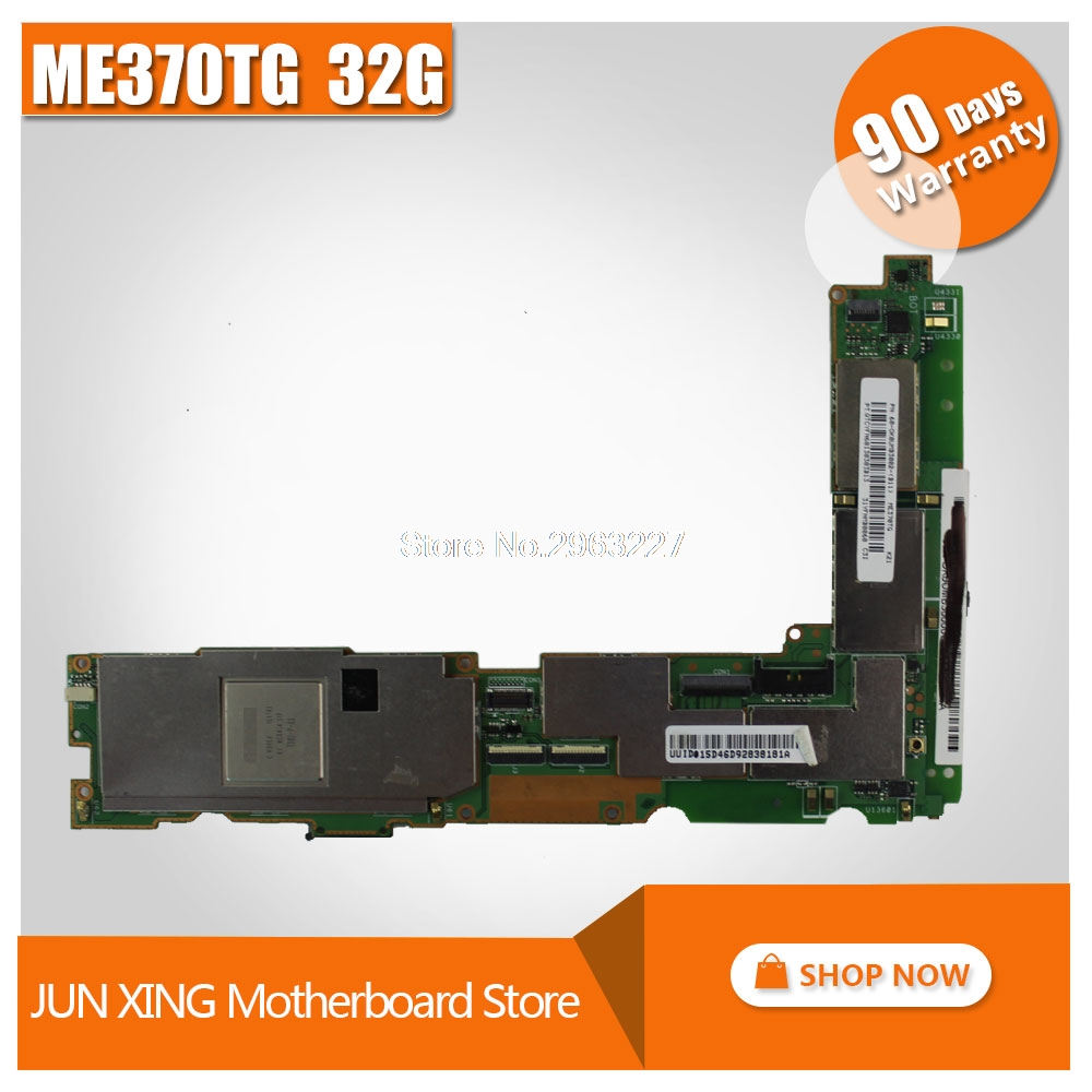 For Asus GOOGLE 7 Nexus7 ME370 ME370TG ME370TG tablet motherboard 32GB Mainboard With 32G Memory tested well full new lcd display touch digitizer screen for asus google nexus 7 1st gen nexus7 2012 me370 me370t me370tg free shipping