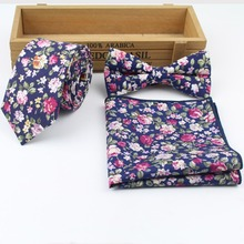 2018 New Style Mens Designer Skinny Flower Rose Paisley Pocket Square Handkerchief Butterfly Bow