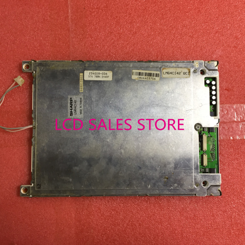 LM64C142 INDUSTRIAL LCD ORIGINAL MADE IN JAPAN A+ IN GOOD CONDITION ums 7371mc 3f lcd screen display original made in japan a