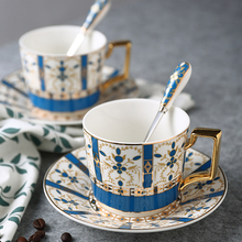 Europe Phnom Penh Coffee Cup and saucers Ceramic Cups British Afternoon Tea Teacup Porcelain Home Party Drinkware 160ML