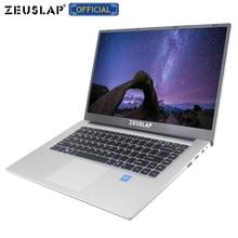 ZEUSLAP 15,6 дюймов 1920*1080 P ips экран 6 ГБ ОЗУ 64 Гб 128 ГБ 256 ГБ 512 ГБ ssd win 10 дешевый нетбук ноутбук компьютер