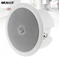 Durable 6 Inch 10W Round High Sensitivity Coaxial Radio Ceiling Speaker Public Broadcast Music Speaker For