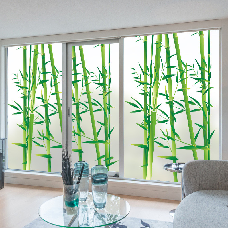 Support Custom Size Static Self Adhesive Window Film
