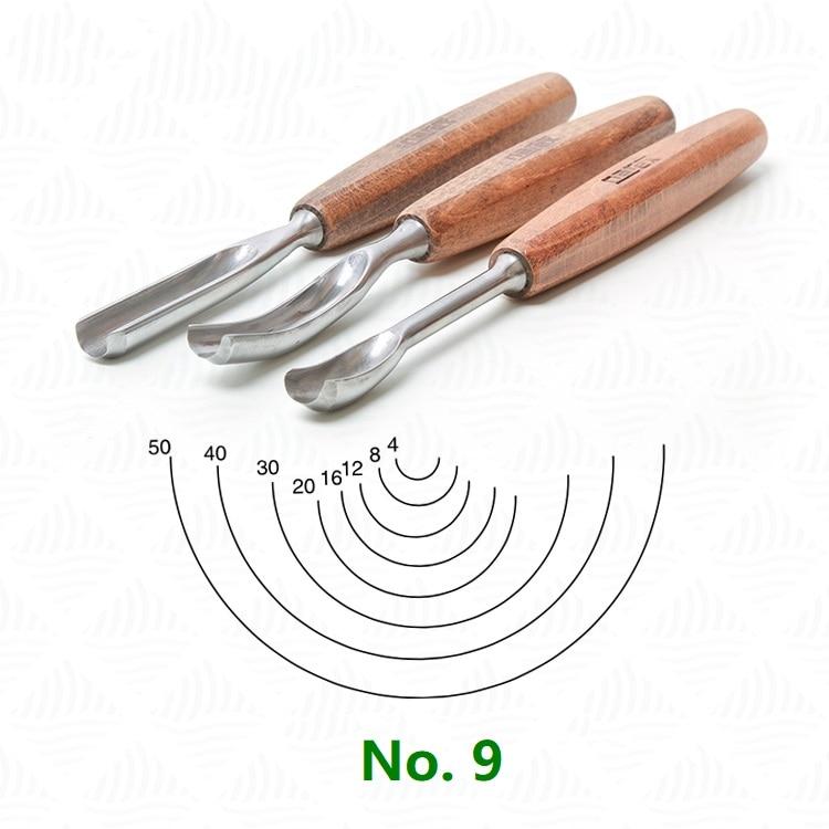 Narex No. 9 Outline Carving Chisel Carving Curved Chisel