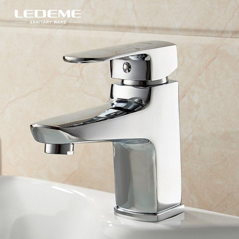 LEDEME squresalle de bains bassin robinet moderne mitigeur lavabo Simple lavabo mitigeur grue L1054