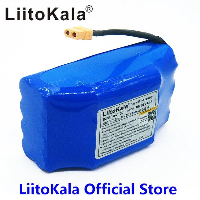 Paquete de batería de iones de litio recargable de 36V, 4400mah, celda de iones de litio de 4,4 Ah para monociclo eléctrico de autoequilibrio para scooter aerotabla