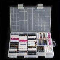 1 шт. AAA AA Батарея ящик для хранения/Организатор/контейнер/держатель Пластик для помещены 100 шт. AAA AA Батарея ворс оптовая цена #30