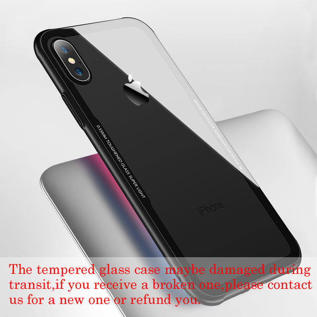 Protective Tempered Glass Phone Case – Apple iPhone