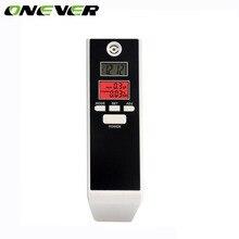 Onever Мини ЖК-цифровой тестер дыхания Алкотестер ингалятор спиртовые счетчики переносить с таймер обратного счета высокая чувствительность