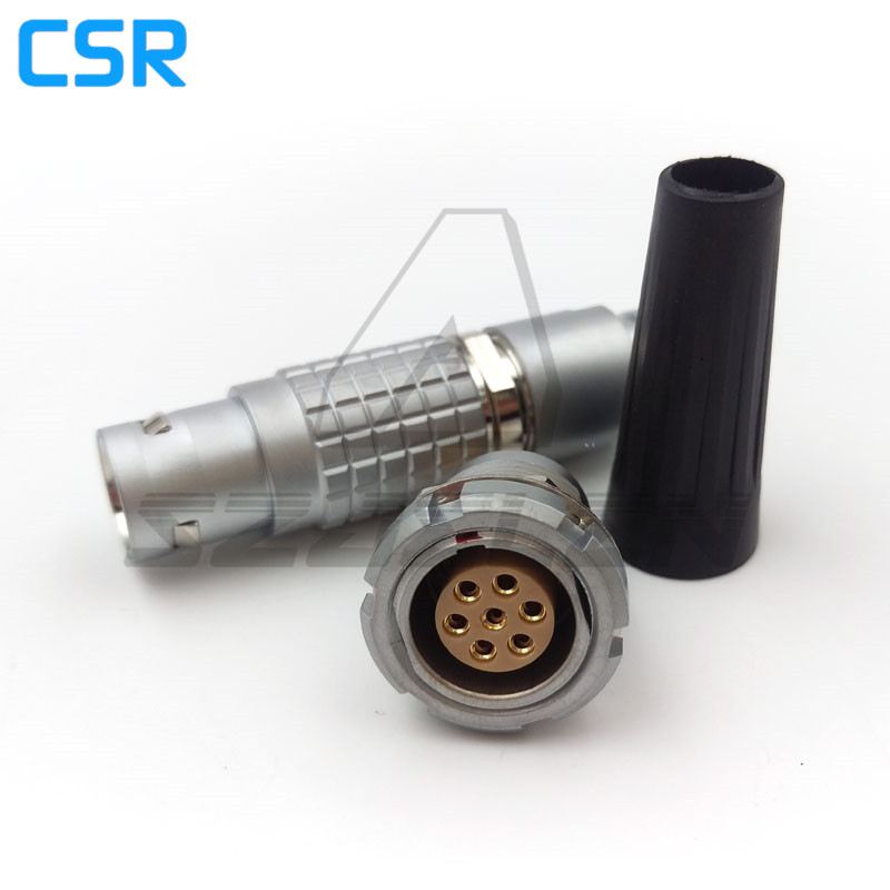 SZJELEN 2B series 7 pins connector, FGG.2B.307.CLAD ,ECG.2B.307.CLL , 7pin push - pull self locking connector compatible lemos 2b series 6 pins metal electrical connector cable plug and receptacle fgg 2b 306 egg 2b 306