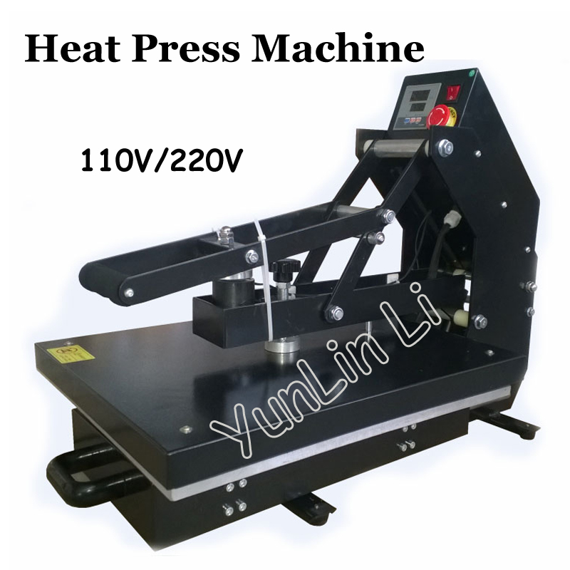 1400W Pull Type Magnetic Heat Press Machine 110V/220V Semi-Automatic Hot Pressing Machine Can be Hot Stamping APLS-HP3804DD 500ml 6bottles set led flexible uv ink for epson r280 r290 r330 l800 1390 1400 uv printer dx5 dx7 uv led ink bk c m y 2white
