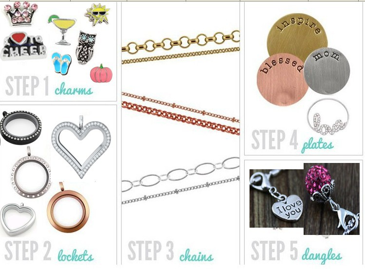 how to make floating lockets