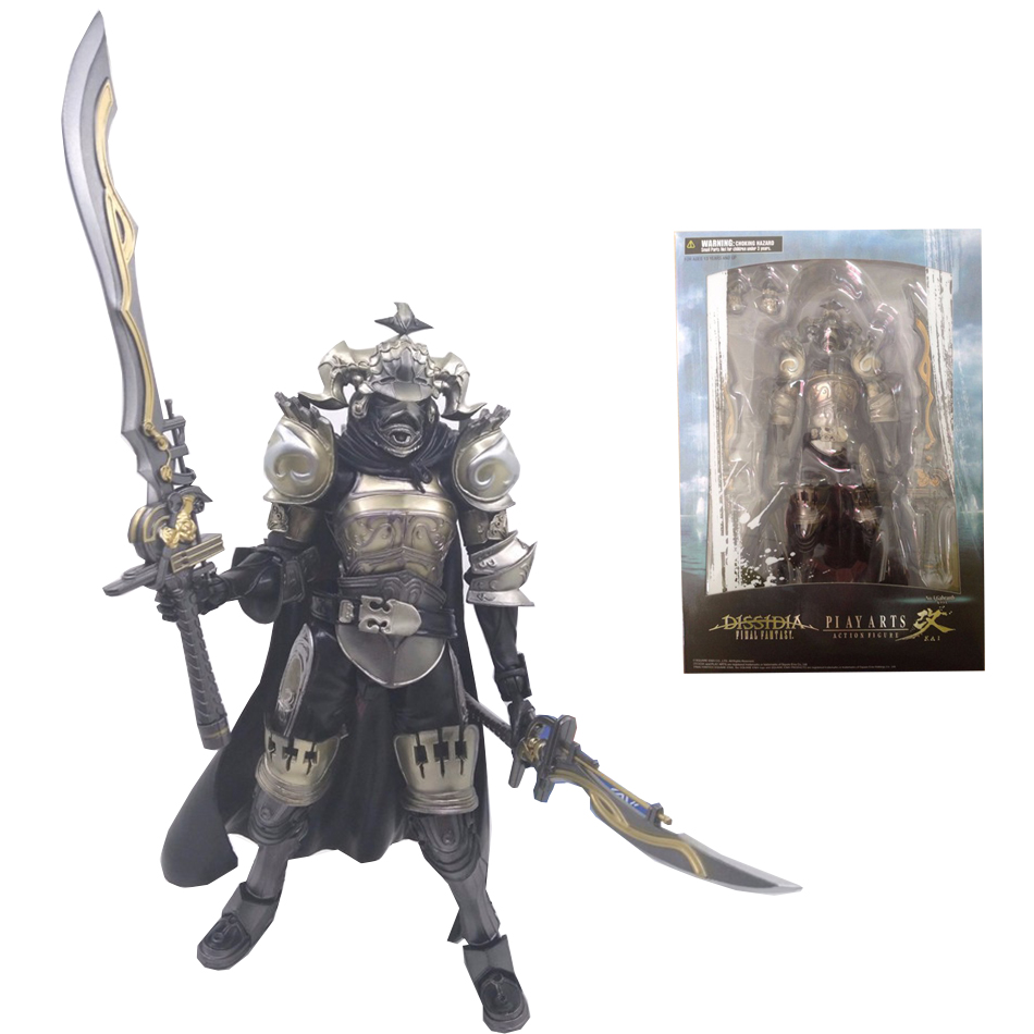 SAINTGI Play Arts Final Fantasy 12 Figure Final Fantasy XII Gabranth Figure PA 23cm PVC Action Figure Doll Toys Kids Gift new hot 22cm final fantasy gabranth collectors action figure toys christmas gift doll