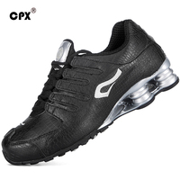 CPX men's Shox sport running shoes leather Crocodile pattern men's sneakers waterproof outdoor athletic shoes Free Shipping