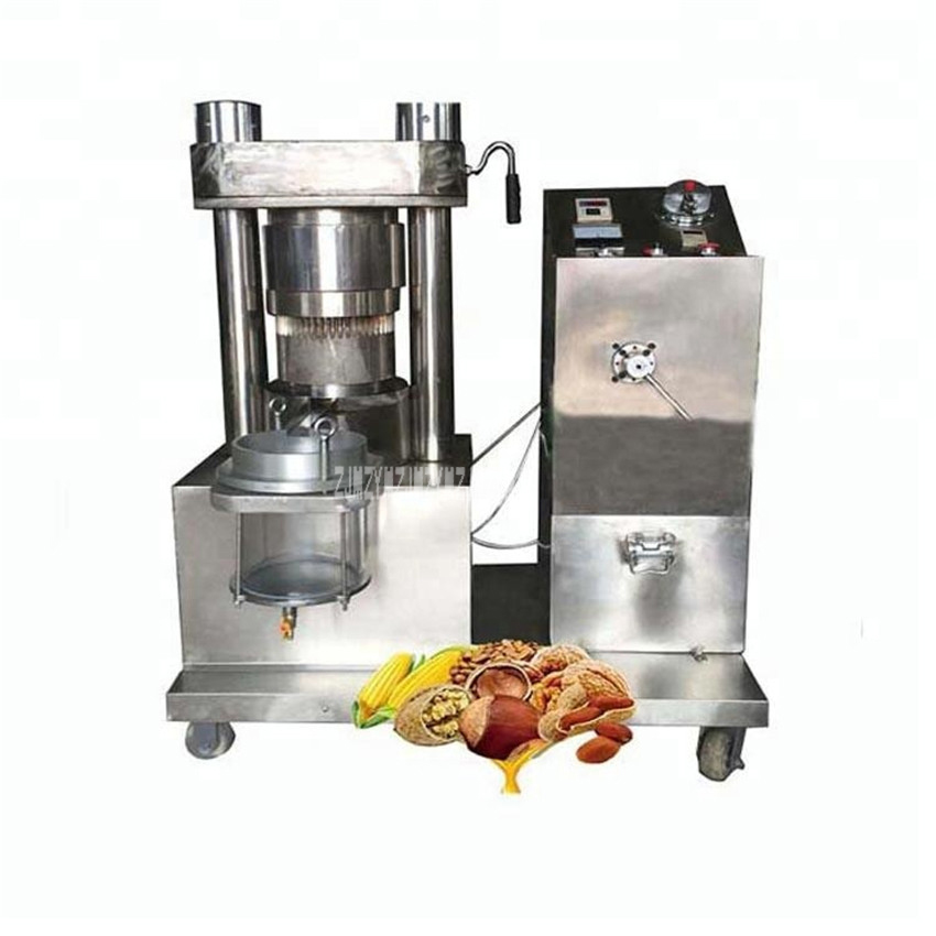 Machine d'extraction d'huile vierge de noix de coco d'avocat 50 kg/h matière première sèche huile de palme d'arachide de sésame faire la Machine de presse Sr-DH150STB