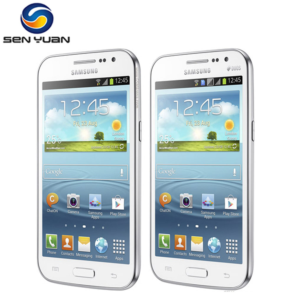 Samsung Galaxy Win Duos 4GB 1gb GSM 5mp Refurbished Mobile-Phone Touch-Screen Cell-Phone-Android