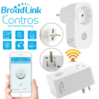 Original Broadlink SP3 CC Contros EU US Plug WiFi Smart Home Switch Plug 16A Timer Automation