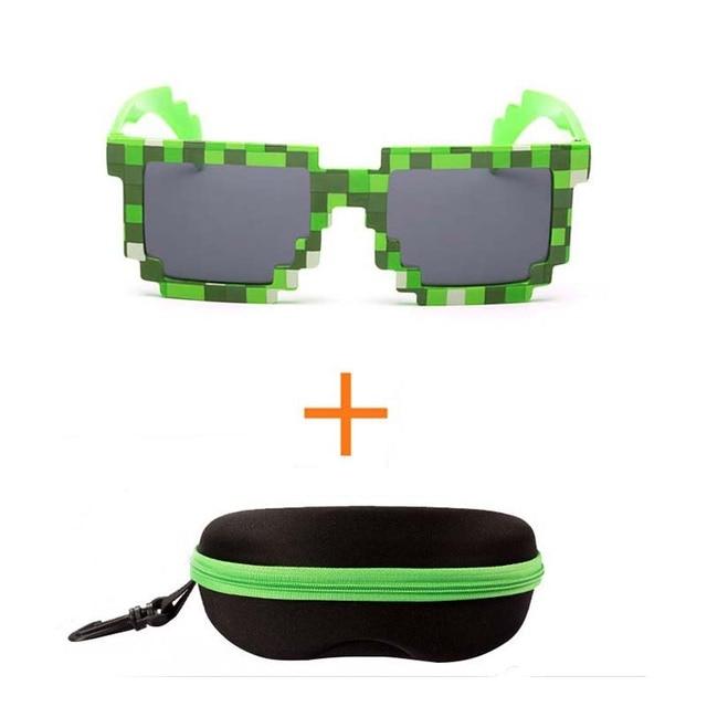Teilelos Fashion Minecraft Sonnenbrille Kinder Cos Spielen Action - Minecraft fnaf spielen
