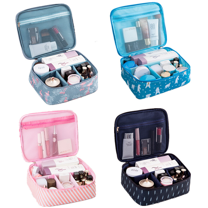 Back To Search Resultsluggage & Bags Dependable Womens Cactus Printing Cosmetic Bag Cases Beauty Vanity Make Up Wash Pouch Travel Necessarie Makeup Toiletry Kit Organizer Box Women's Bags