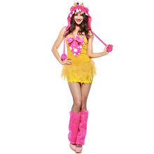 Cute Monster Costume Cosplay For Women Animal Adult Halloween Carnival Party Suit Fancy Dress Up