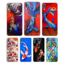 Silicone Phone Case Chinese Koi Fishes Fashion for Samsung Galaxy Note 8 9 M30 M20 M10 S10 S9 S8 Plus Lite S6 S7 Edge Cover kluosi 24v battery 7s4p 29 4v 14ah ncr18650ga li ion battery pack with 20a bms balanced for electric motor bicycle scooter etc
