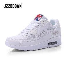 JZZDDOWN ademende Running Sneakers Vrouwen Schoenen Mesh Air vrouwelijke sneakers voor vrouwen Wiggen trainers dames casual schoen