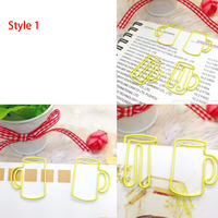 Pictures of 7 Style Cup Paper Clip for Reference / Note : not ready to sale yet