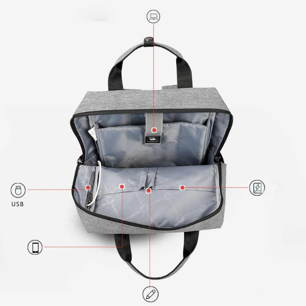 ... Tigernu Mommy Diaper Bag Baby Nappy Bags Desiger Nursing Bag Fashion  Travel Women Small Backpack Baby ... 7c4a35269aae7