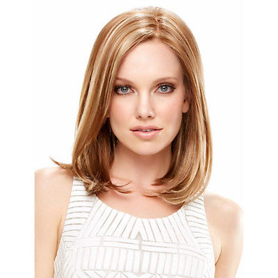 Hot Sell!  Women's Medium Natural Hairstyle Synthetic Hair Multi-Color Color Fashion Wigs