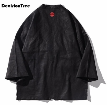 3e730b1bc1b96 2019 nuevo kimono japonés cardigan hombres largo carpa impresión kimono  floral Rebeca hombres blanco Japón kimono hombres