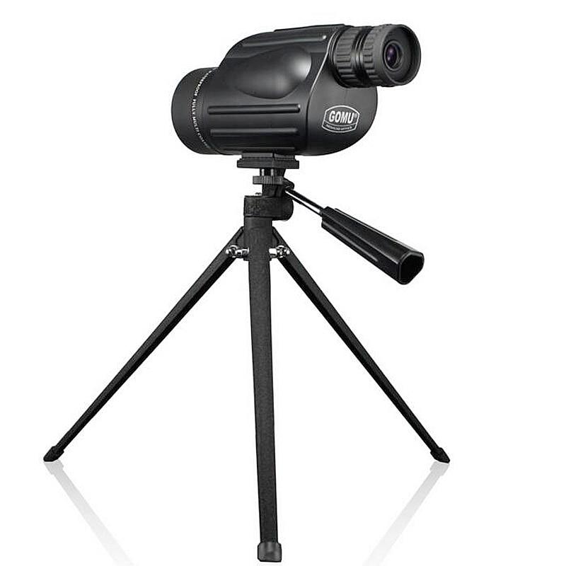 Gomu 10-30X50 HD Zoom Monocular pájaro reloj de alta calidad nitrógeno impermeable telescopio binoculares prismáticos binoculares de caza a prueba de golpes a prueba de trípode - 6