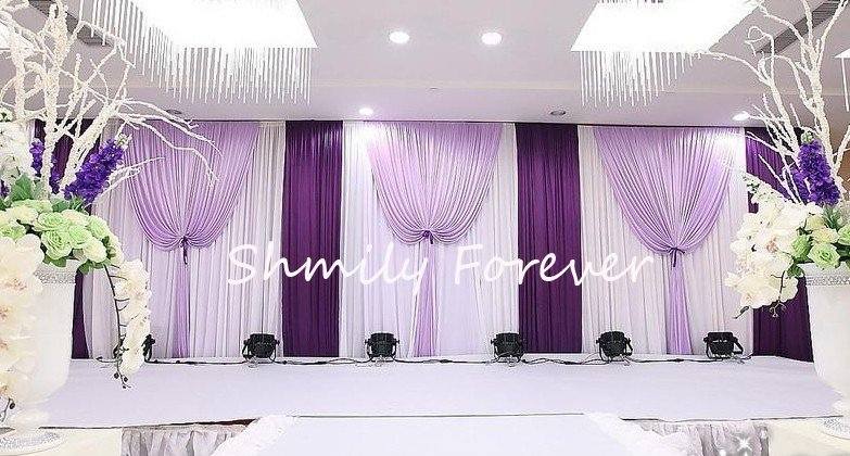 Wedding Curtain Backdrops - Rooms