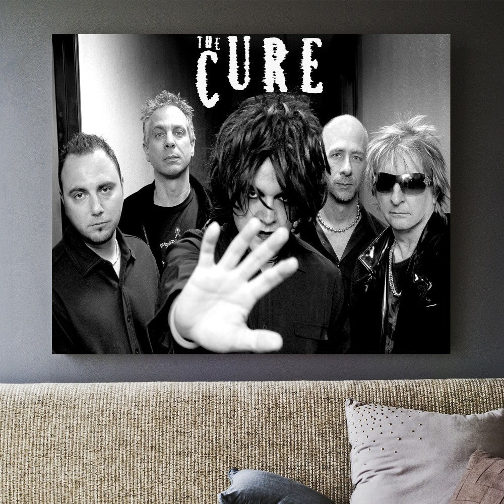 The Cure Classic Music Band Posters and Prints Wall art Decorative Picture Canvas Painting For Living Room Home Decor Unframed in Painting Calligraphy from Home Garden