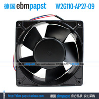 ebm papst W2G110 AP27 09 DC 48V 6W 3 wire 120x120x38mm Server Square Fan