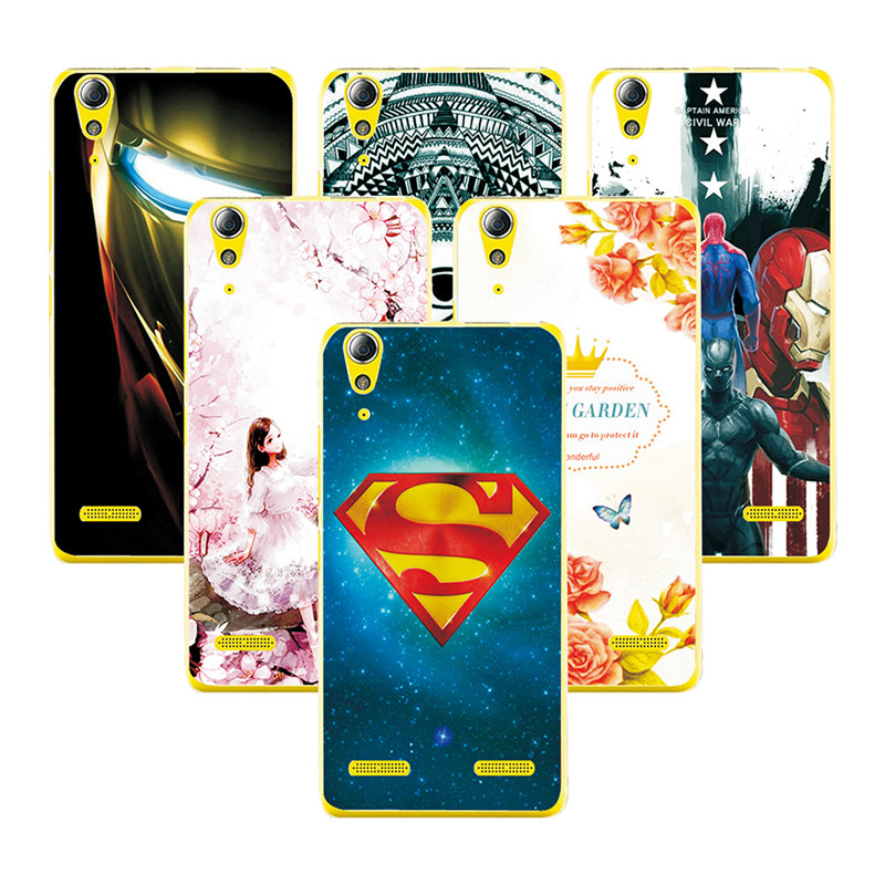 Fashion Attractive Hard Plastic Case For <font><b>Lenovo</b></font> a6010 Super Iron Man Painted Back Protector Cover For <font><b>Lenovo</b></font> <font><b>A</b></font> <font><b>6010</b></font> A6010 Plus image