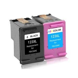 Image 2 - TIANSE 2pk dla HP123 XL w celu uzyskania atrament kartridż do hp DESKJET 1111/1112/2130/2131/2132/3630