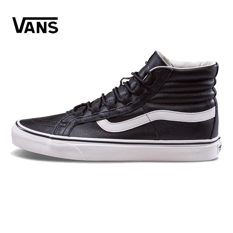 Original New Arrival Vans Men's & Women's Classic Sk8-Hi Skateboarding Shoes Sneakers Canvas Comfortable VN0A3ZCH68X