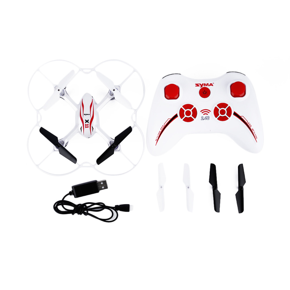 все цены на Syma X11 4CH 2.4GHz Mini Quadcopter without Camera HD Micro Drone Pocket Quadrocopter Aircraft RC Helicopter Kids Toys Dron