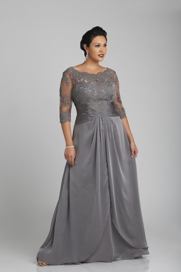 Vestidos de fiesta largos baratos tallas grandes