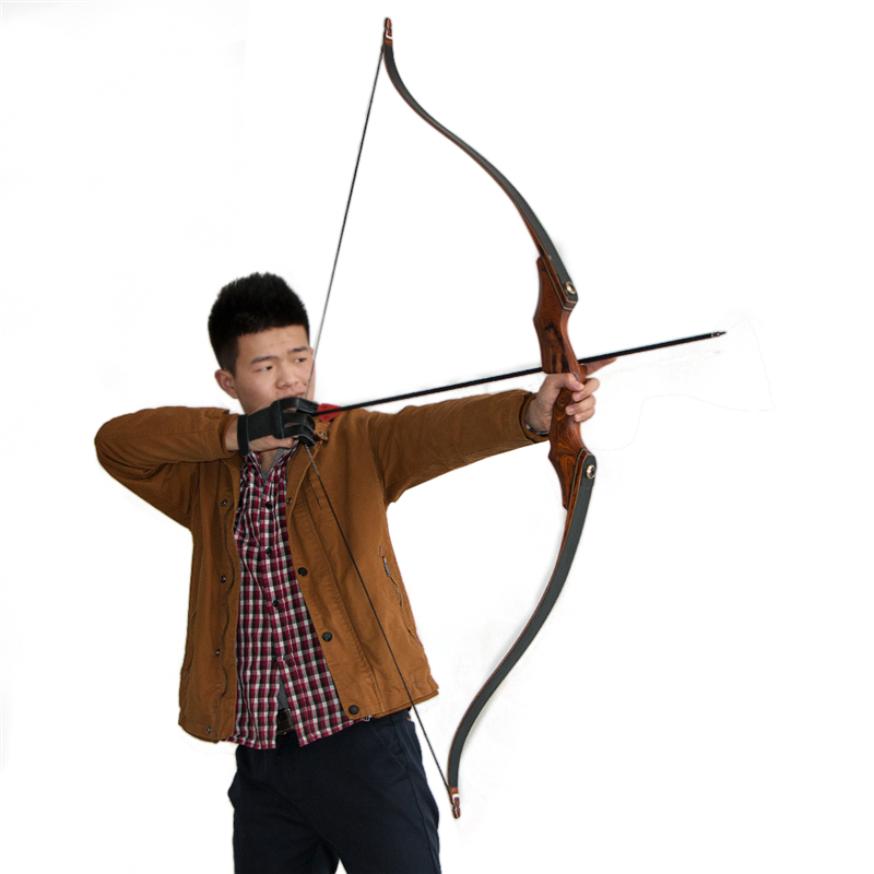 Archery hunting takedown bow 58inch laminated bamboo and fiberglass outdoor hunting recurve bow accessories wholesale archery equipment hunting carbon arrow 31 400 spine for takedown bow targeting 50pcs
