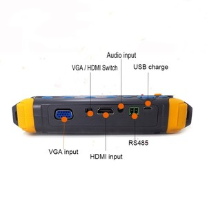 Image 3 - Upgraded 4 IN 1 5MP AHD TVI 4MP CVI Analog Security Camera Tester IV8W 5 Inch CCTV Tester Monitor VGA HDMI Input UTP Cable Test