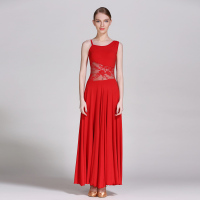 New Women gallus Modern Dance Dress Standard Dress Ballroom Competition Dress 238