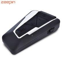 Новый T9S нашлемная телефонная гарнитура домофон Bluetooth 3,0 с FM радио голос обмен Водонепроницаемый для мотоцикла 1200 M
