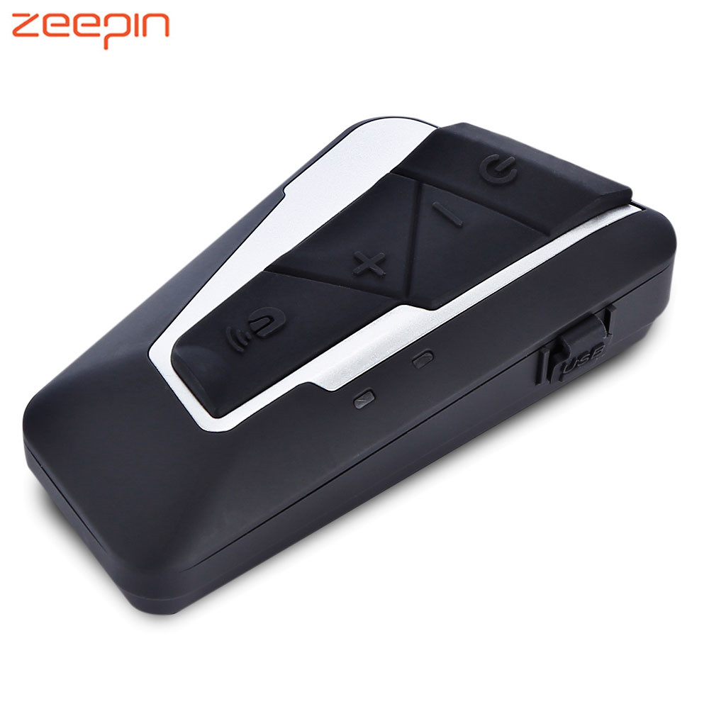 Nouveau T9S Casque casque intercom Interphone Bluetooth 3.0 Avec FM Radio Voix Partage Étanche Pour Moto 1200 M