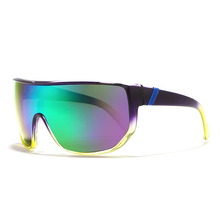 Oversized Sunglasses Men Women All Face Suit Shield Goggles Big On Loo