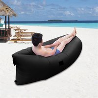 Ultra Light Outdoor Inflatable Lounger Bag Lazy Air Sofa Waterproof Fast Inflated Air Chair Ideal For