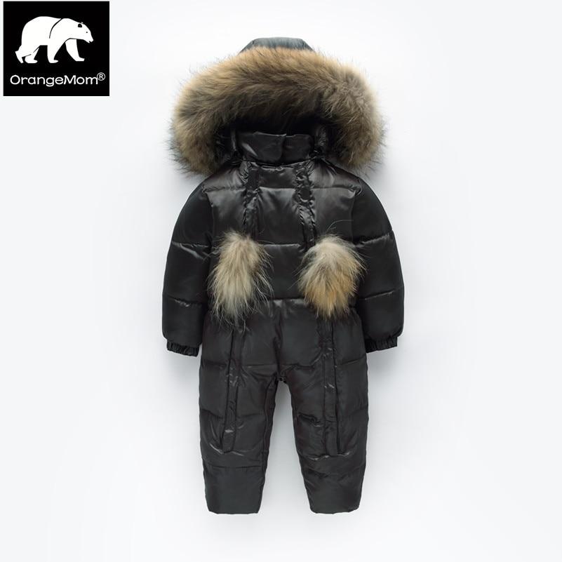 Orangemom winter overall hohe qualität schneeanzug baby 1-4 y kinder winter mantel, jacke kinder jungen mädchen kleidung winddicht