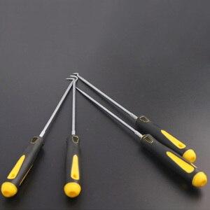 Image 4 - 4 sztuk/zestaw O pierścieniowa uszczelka olejowa narzędzia skrobak usuwania hak narzędzie ściągacz ściągacz gumowe wkrętak zestaw narzędzi do naprawy samochodu